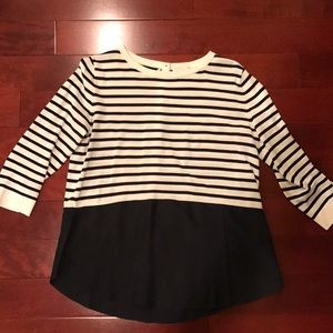 Stripped COS blouse